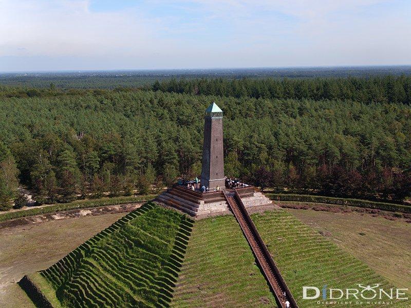 Piramide van Austerlitz by drone